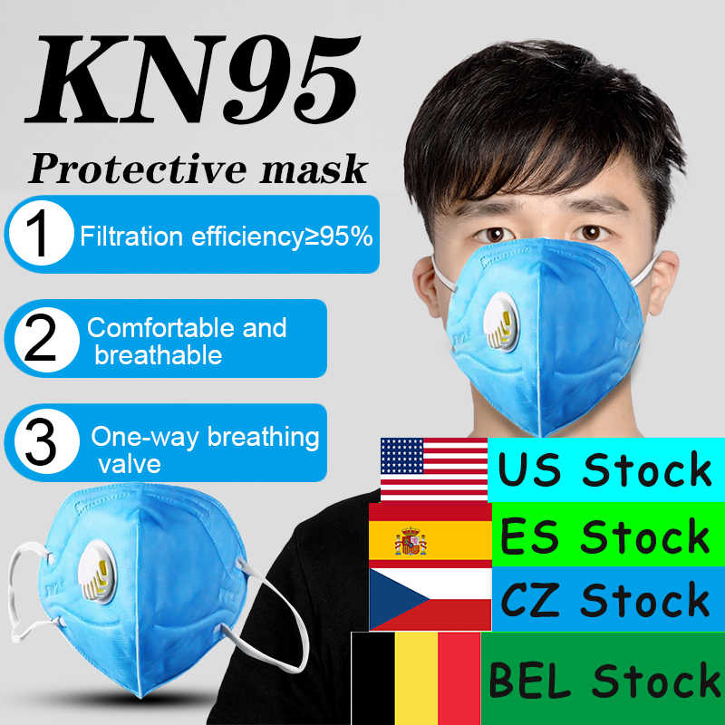 KN95 masque 5 couches grippe Anti-Infection N95 masques de protection respirateur à particules PM2.5 sécurité de protection identique à KF94 FFP3