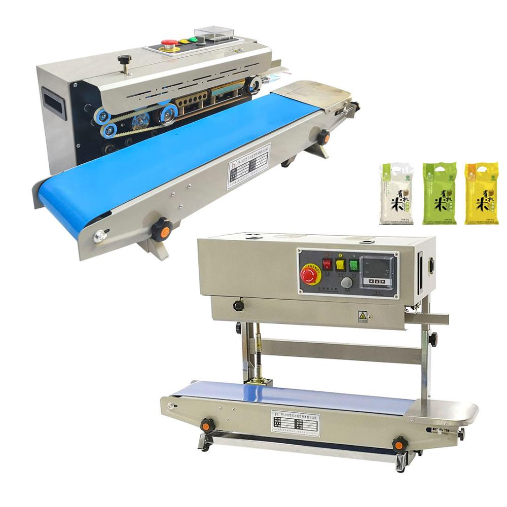 220V plusieurs modèles d'impression multi-fonction Machine de cachetage automatique feuille d'aluminium sac en plastique Film emballage continu Machi