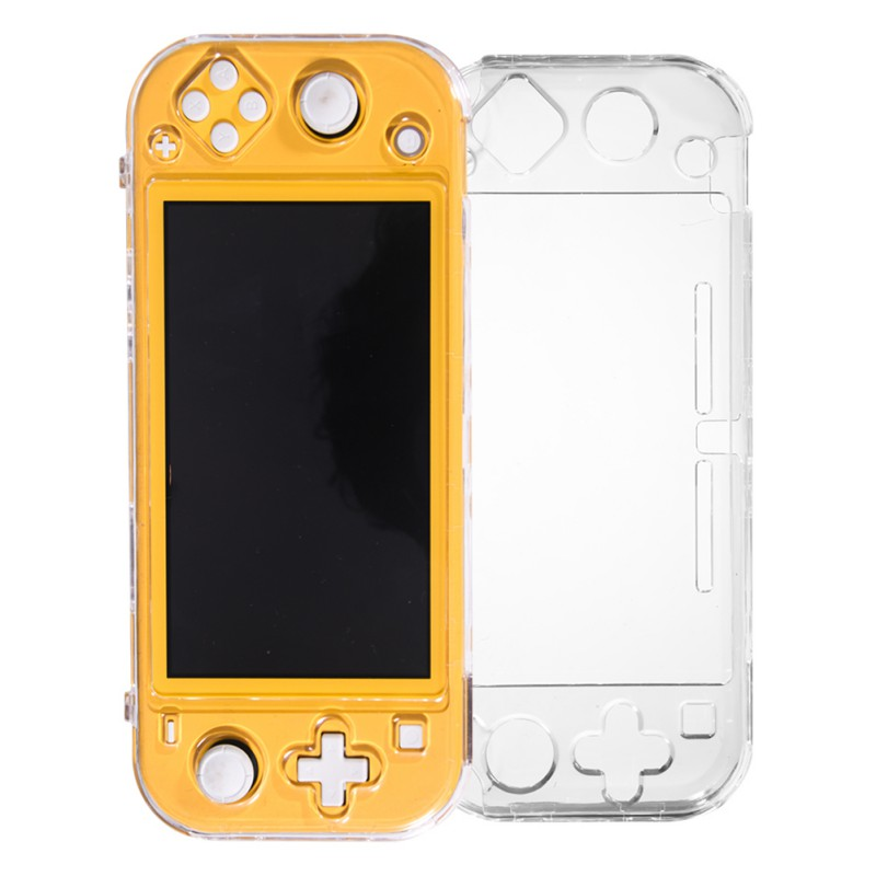 Protective Case For Nintendo Switch Lite Transparent Crystal Anti-scratch Console Handle Gamepad Shell Cover Case Accessories(China)
