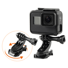 Vertical Surface J-Hook Buckle Mount Adapter for Gopro Go pro HD Hero 7 6 5 4 3 3+ 2 Edition Xiaomi yi camera Accessories