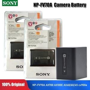 Sony 1900mAh NP-FV70A NPFV70 NP FV70 NP-FV70A Camera Batteries For NP-FV50 FV30 HDR-CX230 HDR-CX150E HDR-CX170 CX300