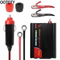 400-600 watts inversor de potência dc 12v para 220v ac inversor do carro com porta de carregamento usb novo