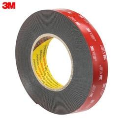Cinta Nano 3M 5952F 19MMX11M material de oficina escuela cintas adhesivas sujetadores cinta de montaje Universal, negro 5952F