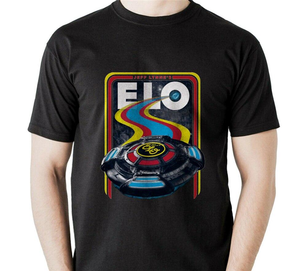 Jeff Lynne'S Elo Rock Band Mens T-Shirt Usa Size Bodybuilding Tee Shirt