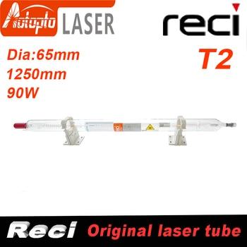Co2 Reci T2  Laser Tube Tubes For Co2 Laser Cutting Engraving Machine Dia 65mm 75W/90W/100W fireray reci w2 t2 90w 100w co2 laser tube dia 80mm 65mm power supply 100w for co2 laser engraving cutting machine