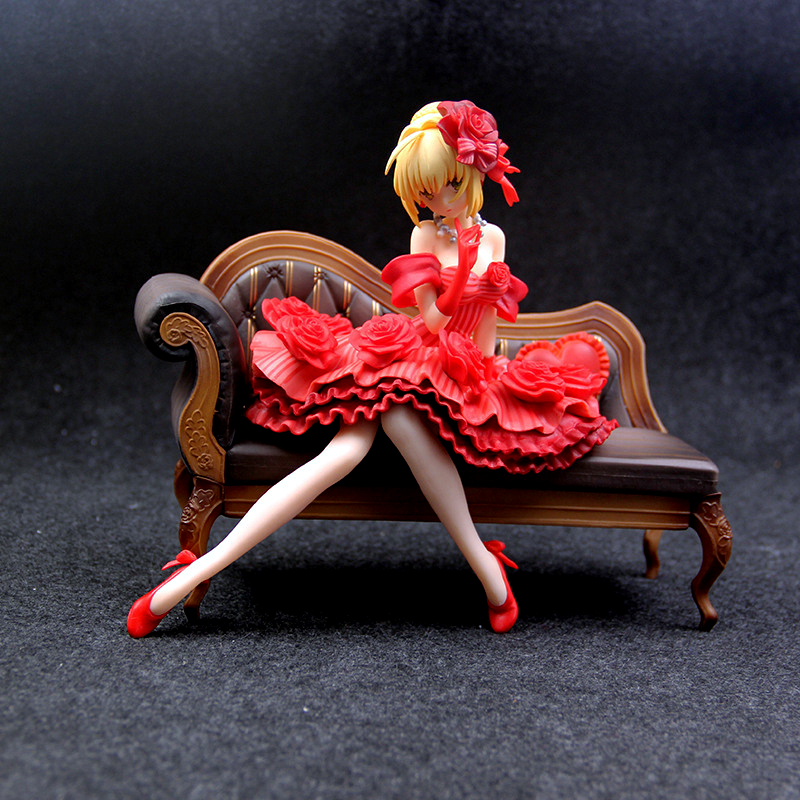 Anime <font><b>Figure</b></font> Fate Stay Night nero claudius saber Action <font><b>Figure</b></font> <font><b>Sexy</b></font> Model Dolls Decoration Collection Figurine Christmas image