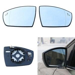 Авто Замена выпуклые с подогревом слепые пятна предупреждение крыло зеркало заднего вида Стекло для Ford KUGA 2013 2014 2015 2016 2017 2018 2019