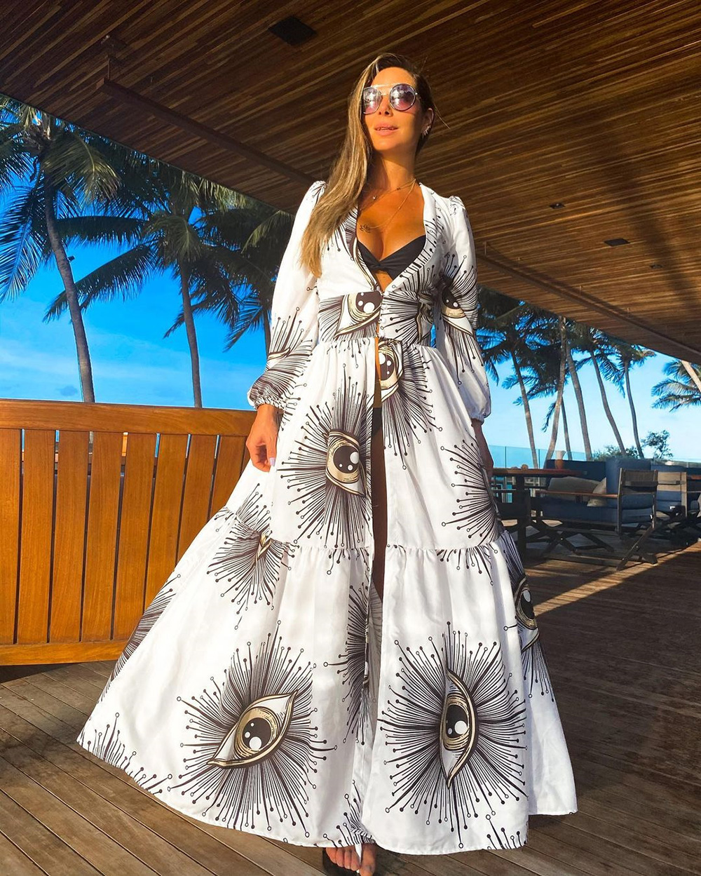 Crochet White Knitted Beach Cover up dress Tunic Long Pareos Bikinis Cover ups Swim Cover up Robe Plage Beachwear 9