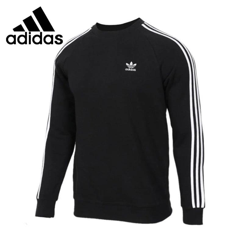 Original New Arrival Adidas Originals 3-STRIPES CREW Men's Pullover Jerseys Sportswear