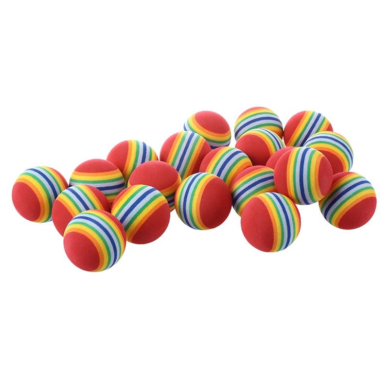 20pcs Golf Balls Of Sponge For Training