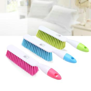 Anti-Static Lint Hair Remover Dust Cleaner Bed Sheet Quilt Soft Bristle Non-slip Brush Holder Housework Cleaning Accessories image