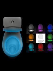 Luminaria Bedside Wc-Toilet-Lamps Night-Light Motion-Sensor Smart Waterproof 8-Colors