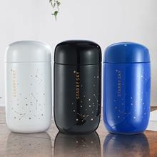 Butelka termosowa Starry Sky Mini mała pojemność szczelny kubek kawy 304 termos ze stali nierdzewnej 200ML butelka termiczna tanie tanio CN (pochodzenie) STAINLESS STEEL Termosy