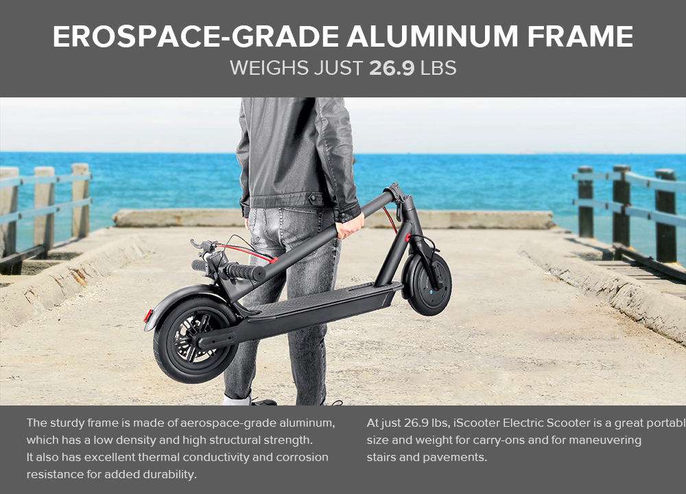 8.5 Inch Electric Scooter Electric Skateboard Adult Smart 250W Motor Adult Folding Electric Scooter Trotinette Patinete Eletrico
