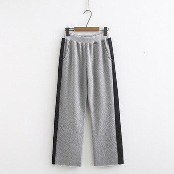 Trouser For Women  Causal Loose Wide Leg Pants Female 2019 Autumn Korean Fashion Elegant Tide