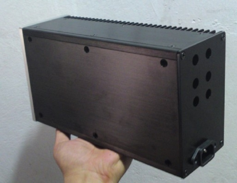 BRZHIFI top kühler aluminium fall für power verstärker