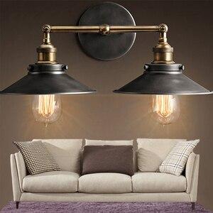 Image 5 - Lampara lampe murale Vintage, éclairage mural, 85/265V, E27, mur LED, miroir, idéal pour la maison, Bar, Loft