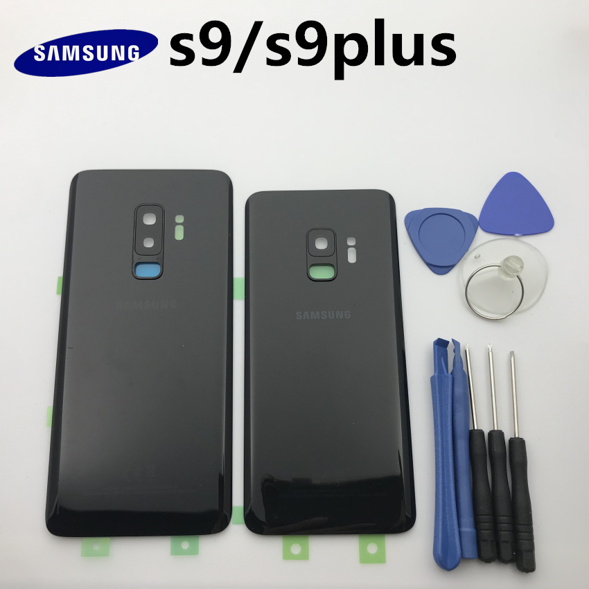 Replacement Original Rear Panel Battery Glass Back Door Cover For Samsung Galaxy S9 S9+edge Plus G960 G960F G965 G965F+tool