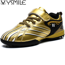 Boy Leather Waterproof Cleats Kids Sneakers Boys Soccer Shoes Children Football Outdoor Girls Child Trainer