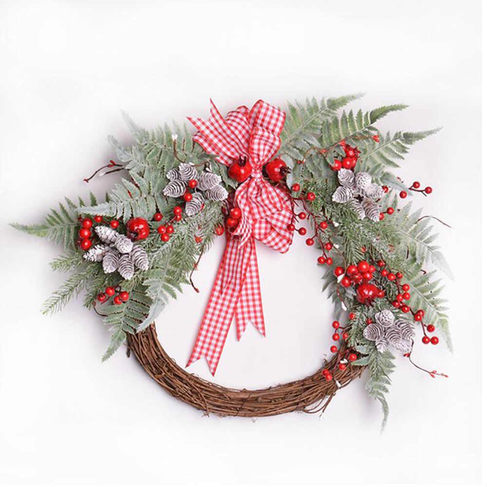 3 Cm Kerucut Pinus Buatan Bunga Nanas Rumput Buatan Natal Dekorasi Pernikahan Hadiah Album Kotak