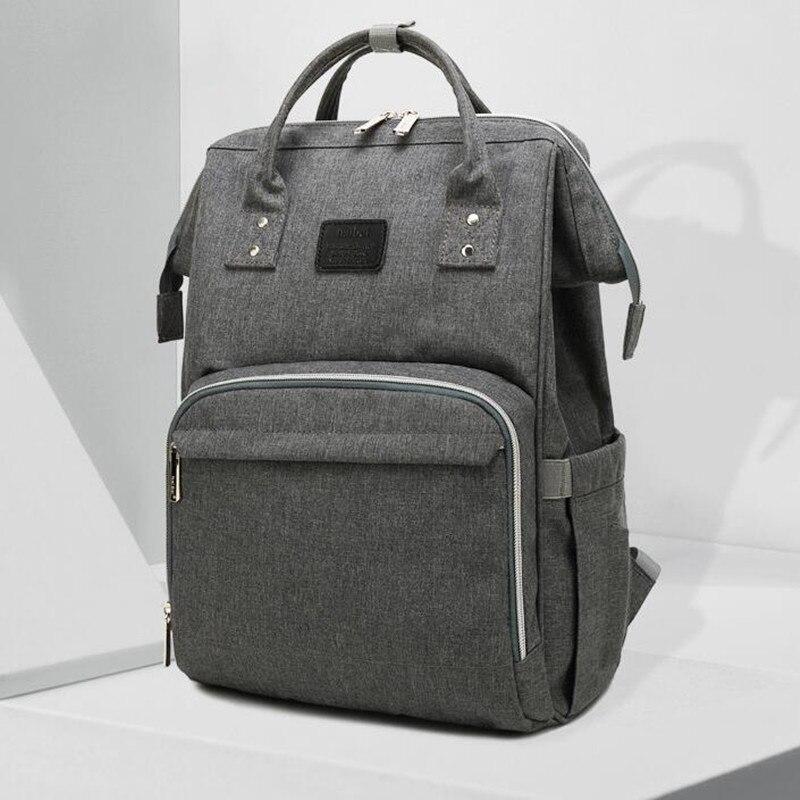 12 Color Upgrades Fashion Mummy Maternity Nappy Bag Brand Large Capacity Travel Backpack Designer Nursing Bag Baby Care Bag A002