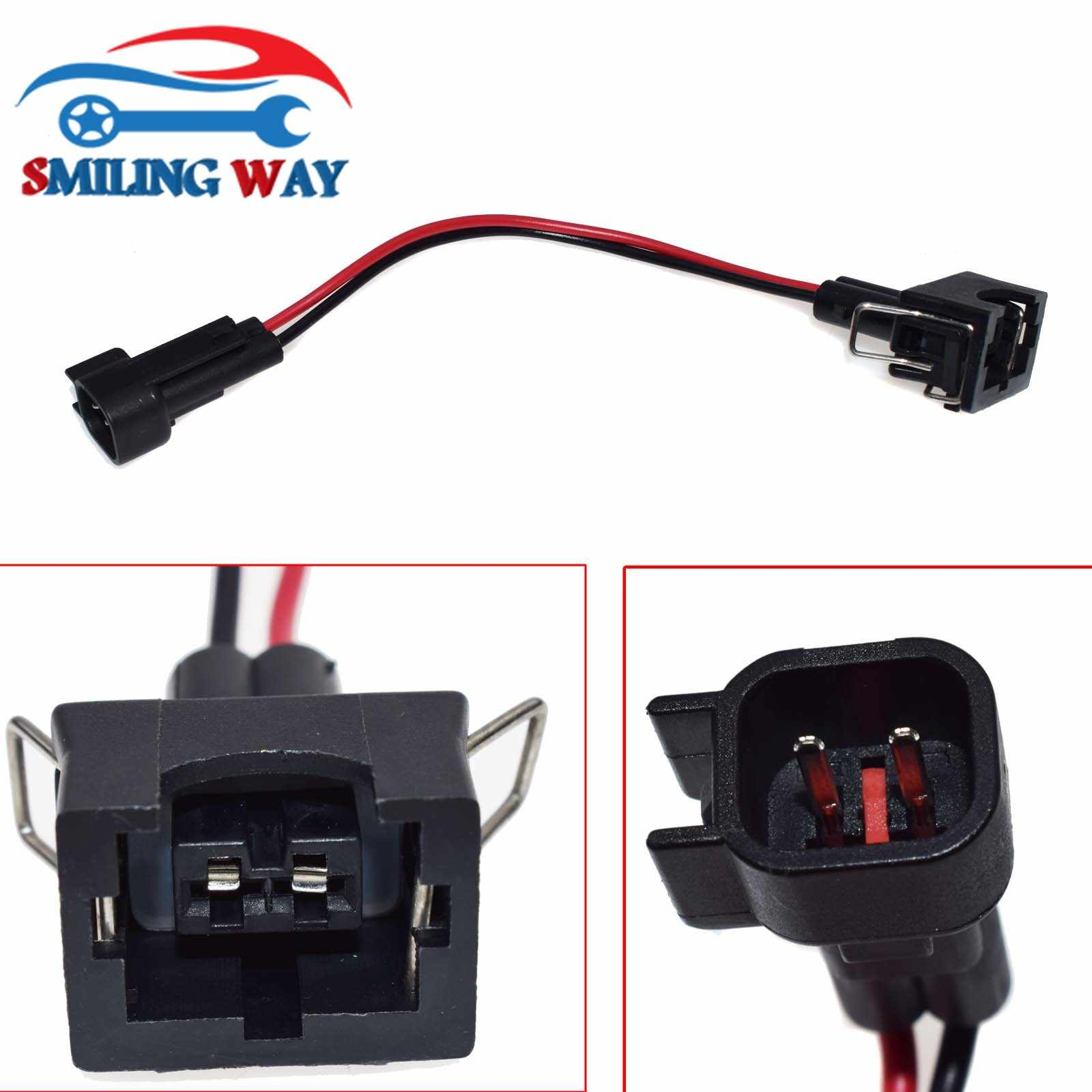 SMILING WAY# Engine Wire Harness Wiring Pigtail LQ4, LQ9 4.8 5.3 6.0 to  Fuel Injector Adapters LS1 LS6 LT1 EV1 Connector    - AliExpresswww.aliexpress.com