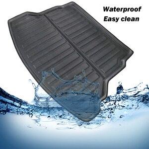 Image 4 - Rear Trunk Cargo Boot Liner Mat Floor Tray Carpet Protector Mud Kick For Honda CRV CR V CR V 2012 2013 2014 2015 2016