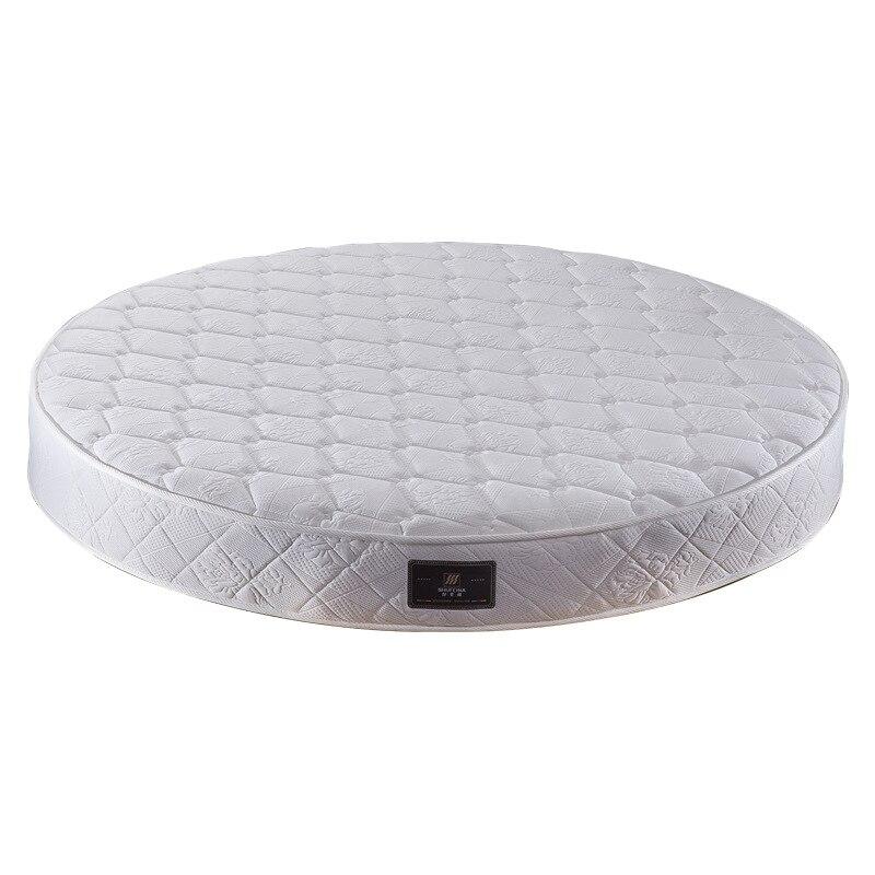 2 -2.2 meters Round mattress latex independent spring hotel bed mattress