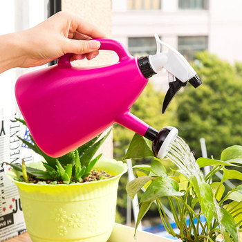 Hand Pressure Sprayers Gardening Tools Sprinkling Manually Watering Can Adjustable Nozzle Plant Irrigation Spray Water Bottle