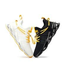 Fahsion zapatos informales transpirables para Hombre, Zapatillas masculinas con cojín de caída, deportivas