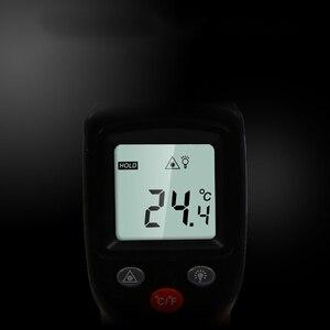 Image 4 - Termómetro Digital infrarrojo sin contacto GM320, pistola medidora de temperatura, pirómetro láser de mano de 50 a 380 grados, IR