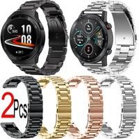 Rvs Horlogeband Voor Huawei Horloge Gt 2e 46Mm Pro Honor Magic 2 42Mm Droom Es Armband Smart horloge Band Polsband
