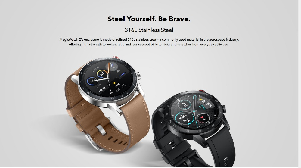 Honor Magic Watch 2 Smart Watch Bluetooth5.1 Smartwatch Not GT 2 Waterproof 14 Days Smart Sports Watch  Heart RatFor Android iOS (8)