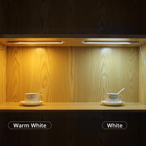 Image 5 - 12V Motion Sensor Hand Sweep night lamp Wireless Hand wave scanning Detector Automatic On/Off Kitchen Cabinet wardrobe lighting