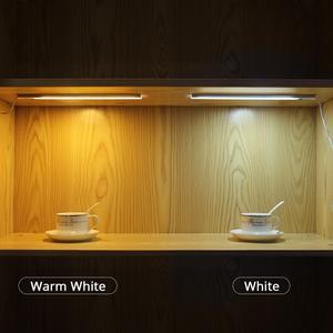Image 5 - Sensor de movimiento de 12V lámpara de noche de barrido a mano inalámbrica Detector de escaneo de onda automático de encendido/apagado armario de cocina iluminación