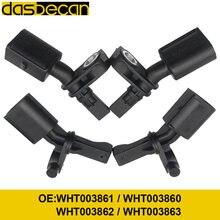 DASBECAN 4 PÇS/LOTE Sensor de Velocidade da roda Fit Para VW Audi Assento Ibiza Leon Toledo Golf Polo WHT003860 WHT003861 WHT003862 WHT003863