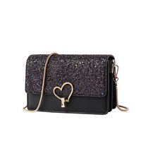 OUMISI New high end fashion love bag sequins inclined bag starry sky shoulder bag in 2019 PC