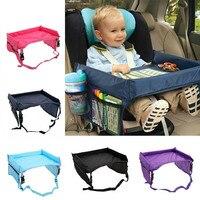 Водонепроницаемый детский поднос для сиденья автомобиля, коляска, детская игрушка, держатель для еды, стол для детей, портативный стол для а...