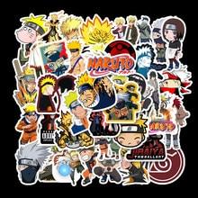 50Pcs One Piece Cute Stickers Custom Stickers Papelaria Naruto Ming Man Sasuke Stationery Sticker Waterproof  PegatinasTZ057G