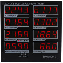ZHURUI EPM5800-E AC/DC power meter/ watt meter/Electrical paremeters tester/ test Power Supply/Driver/efficiency/ac /DC