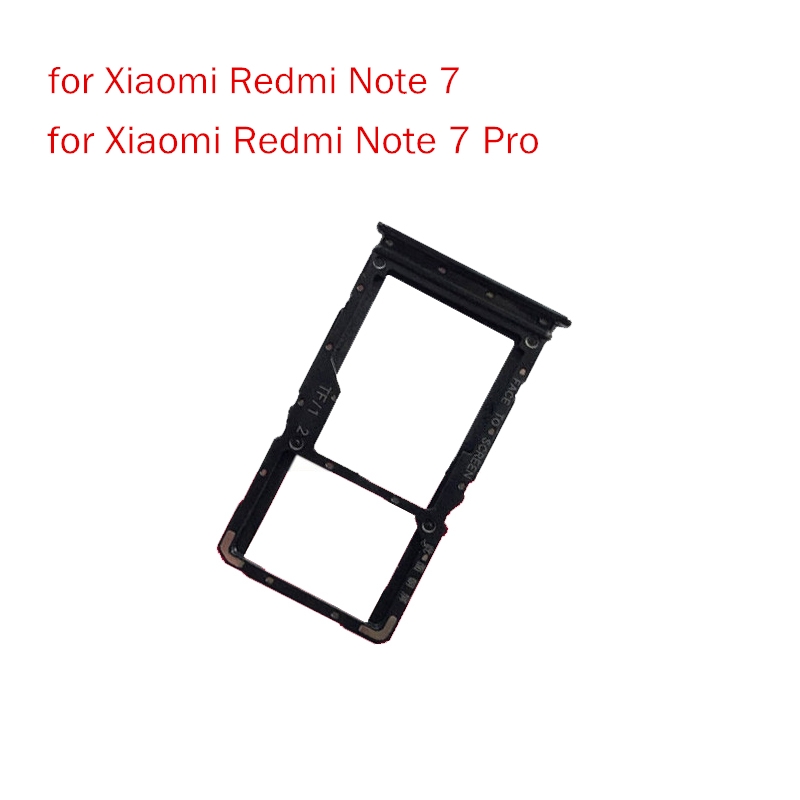 Original For Xiaomi Redmi note 7 pro SIM Card Tray + Micro SD Card ...