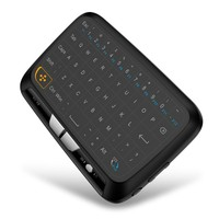 H18 Mini USB 2 4 Ghz teclado inalámbrico Touchpad Mouse Air Mouse para Android TV BOX PC