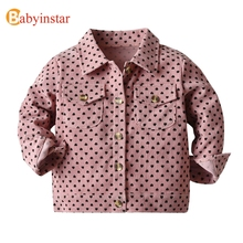Babyinstar Kids Jackets For Girls Jacket Coat Baby Girl Baby Clothing Hoodies Coat Boy Autumn Children