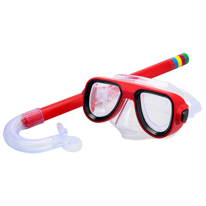 Okulary wodne profesjonalne okulary pływackie dziecko wodoodporne pływanie Uv Anti Fog regulowane okulary całkowita fajka do nurkowania okulary basenowe