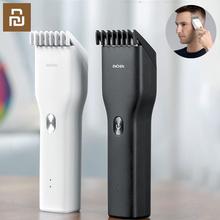 Oryginalne Youpin ENCHEN maszynki do strzyżenia włosów męskie profesjonalne maszynki do strzyżenia USB wymagalne elektryczne maszynki do strzyżenia włosów dla dorosłych dzieci narzędzia do włosów tanie tanio 小米有品 ENCHEN Hair Clippers Ready-to-go Gniazdo USB Rechargeable Hair Cutting Machine For XiaoMi ENCHEN 2 kanały