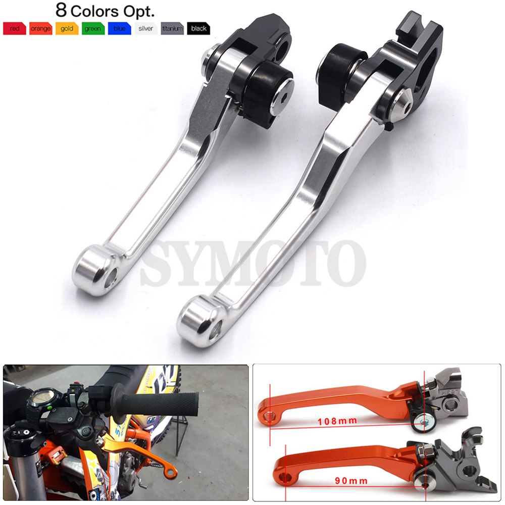 For <font><b>KTM</b></font> 250 XC <font><b>350</b></font> SX-F XC-F XCF-W 400EXC 400XC-W 450 SX SX-R SX-F 450XC-F (SIX DAYS) Motorcycle Dirt Bike Brake Clutch Levers image