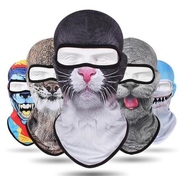 2019 Motorcycle Face Mask  Balaclava Men Quick Dry Summer Motorcycle Masque Moto Helmet Scarf Skull Mask#