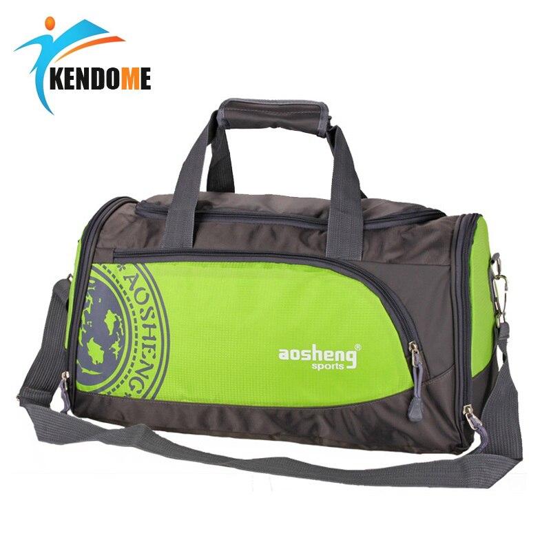 Men's Sports Bag For Women Fitness Gym Bolsa Training Gym Clothing Handbag 25L Shoe Compartment Crossbody Shoulder Travel Duffle