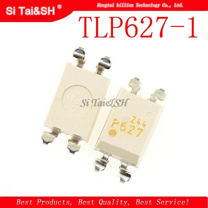 10pcs/lot P627 TLP627 TLP627-1 Optocoupler Chip SOP-4 Original Authentic