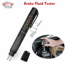 Авто тестер тормозной жидкости тестер проверка качества жидкости 5LED индикатор для DOT3/DOT4 диагностическое тестирование автомобильной мини-ручки